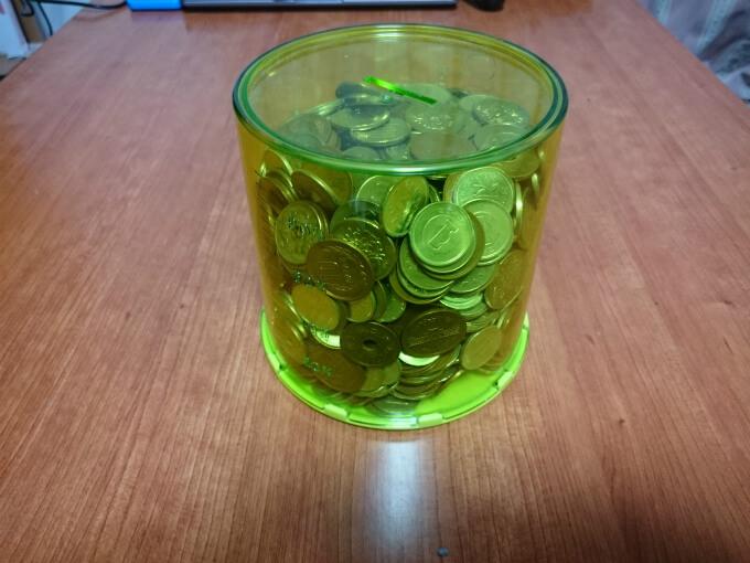 【2016年】小銭貯金を開封!いったいいくらになったかな!?