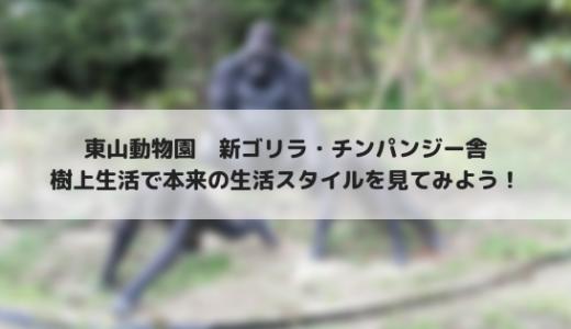 東山動物園に新しいゴリラ・チンパンジー舎オープン!